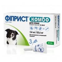KRKA Фиприст Комбо для собак 10-20 кг 1 пипетка