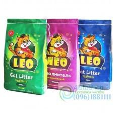 Наполнитель для кошачьего туалета ТМ Лео с ароматом лаванды 5 кг в ассортименте