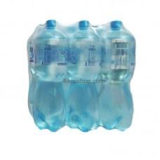 Минеральная вода Утренняя роса 1,5л Сильногазированная упаковка