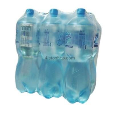 Минеральная вода Утренняя роса 2л Сильногазированная упаковка