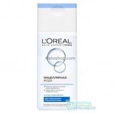 Мицелярная вода L'Oreal Paris для нормальной и смешанной кожи 200мл