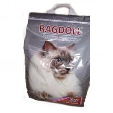 Наполнитель для кошачьего туалета Ragdoll с ароматом лаванды 5 кг крупный