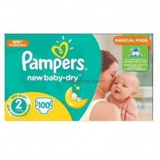 Подгузники Pampers New Baby 2 3-6 кг 100шт