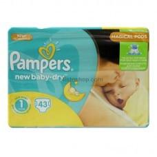 Подгузники детские Pampers New Born 1 2-5кг 43шт