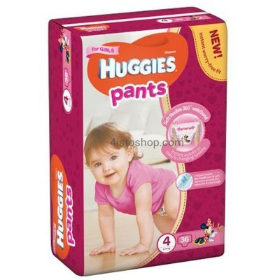 Подгузники-трусики Huggies Pants 4 Girl
