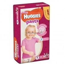 Подгузники-трусики Huggies Pants 5 для девочек от 12 до 17 кг 34 шт