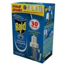 Raid жидкость от комаров для электрофумигатора 30 ночей