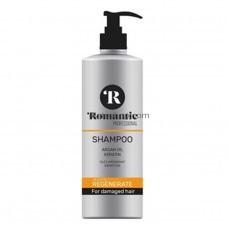 Шампунь Romantic professional Regenerate для поврежденных волос 850мл