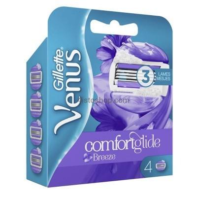 Gillette Venus cменные кассеты для бритья Comfort Glide Breeze 1шт