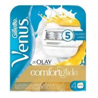 ОРИГИНАЛ!!! Сменные кассеты для бритья Gillette Venus & Olay Comfort Glide 1шт