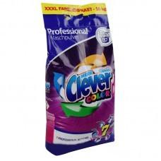 Стиральный порошок Clever Professional Color для цветного белья 10кг