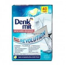 Таблетки для посудомоечных машин Denkmit Multi-Power Revolution 40 шт