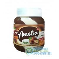 Шоколадная паста Amelia белый и молочный шоколад с ореховым вкусом 400г