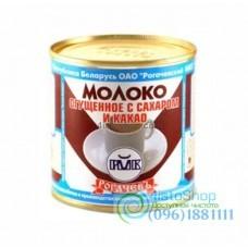 Сгущеное молоко с какао Рогачев 380 мл
