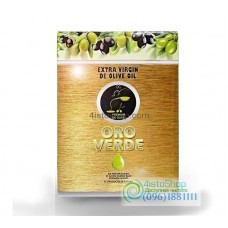 Оливковое масло Oro Verde первого отжима 3л