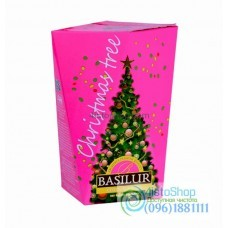 Чай черный Basilur Рождественская елка Фиолетовая 85г картон