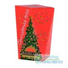 Чай черный Basilur Рождественская елка Красная 85г картон