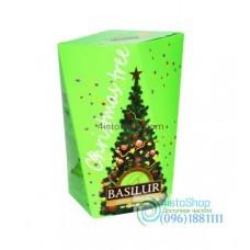 Чай зеленый Basilur Рождественская елка Зеленая 85г картон