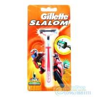ОРИГИНАЛ!!! Gillette Slalom и сменный картридж 1шт
