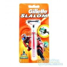 ОРИГИНАЛ!!! Станок Gillette Slalom и сменный картридж 1шт