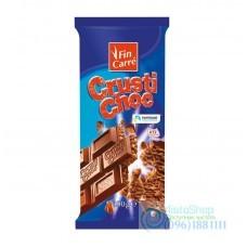 Молочный шоколад Fin Carre Crusti Choc 100г