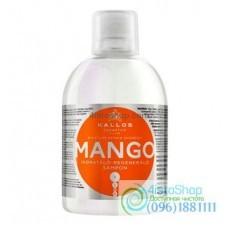 Шампунь Kallos Mango для сухих и повреждённых волос 1л