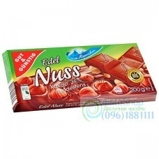 Шоколад молочный Edel Nuss 200г