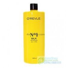 Шампунь для сухих и тусклых волос O`revle Silk 1л