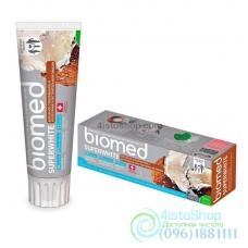 Зубная паста отбеливающая Biomed 100мл