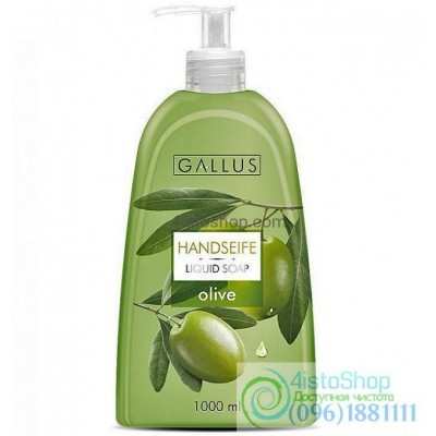 Жидкое мыло Pour Gallus Handseife Olive оливки 1 л