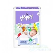 Подгузники Bella Happy 1 Newborn с индикатором 2-5 кг 42шт