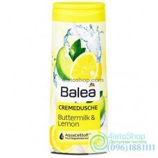 Гель для душа Balea лимон и сливки 300 мл