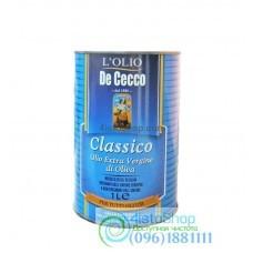 Оливковое масло De Cecco Piacere Extra Virgin Classico 1л