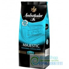 Кофе зерновой Ambassador Majestic купаж арабика и робуста  1кг