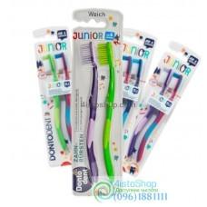 Зубная щетка Dontodent Kids Junior от 6 лет 2 шт