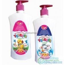 Средство для мытья деткой посуды Ути Пути 600 г