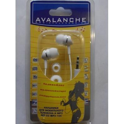 Наушники для мобильного телефона AEF-03-mp3-105