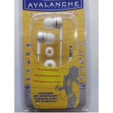 Наушники для мобильного телефона AEF-03-mp3-231