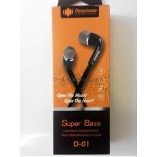 Наушники DeepBass D-01