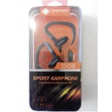 Наушники DeepBass D-09 sport earphone