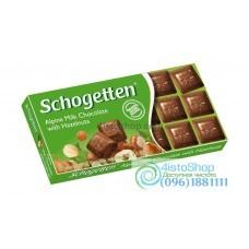 Шоколад Schogetten молочный с орехами 100 г