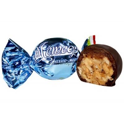 Конфеты в шоколаде Грильяж Метеорит с медовой карамелью 500г