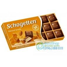 Шоколад Schogetten с миндальной крошкой 100 г