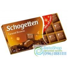 Шоколад Schogetten карамель-брауни 100 г