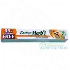 Зубная паста Dabur Herb'l Clove лечебно профилактическая 100 г