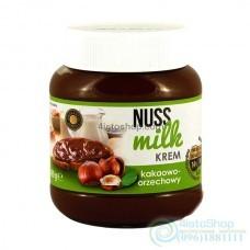 Шоколадная паста Nuss milk молочный шоколад и орехи 400 г