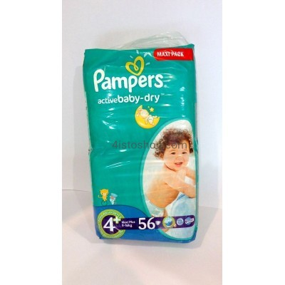 Подгузники Pampers Active Baby 4+ 9-20 кг 45 шт