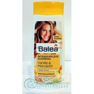 Шампунь для поврежденных волос Balea Vanille & Mandelöl с миндальным маслом 300 мл