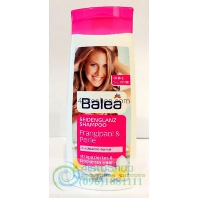 Шампунь для поврежденных и сухих волос Balea Frangipani & Perle 300мл