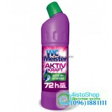 Средство для мытья унитаза WC Meister Aktiv Kraft Pink 1л